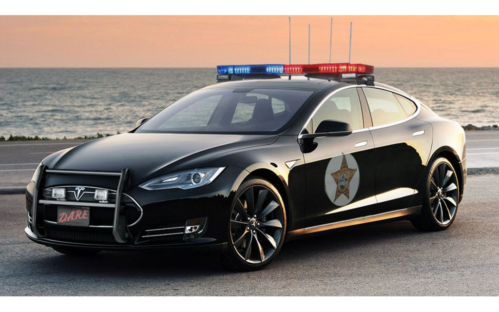 tesla model s au service de la police guide auto. Black Bedroom Furniture Sets. Home Design Ideas