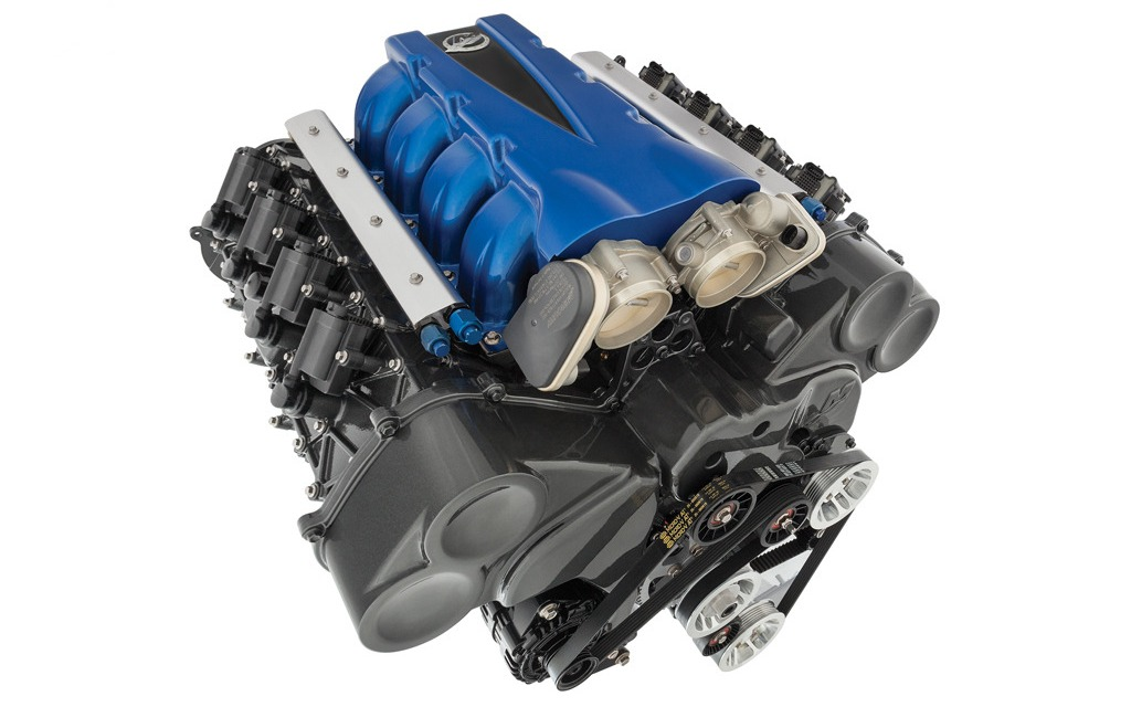 What Is A Crate Engine >> Mercury Racing Unveils QC4v Crate Engines at SEMA - 2/5
