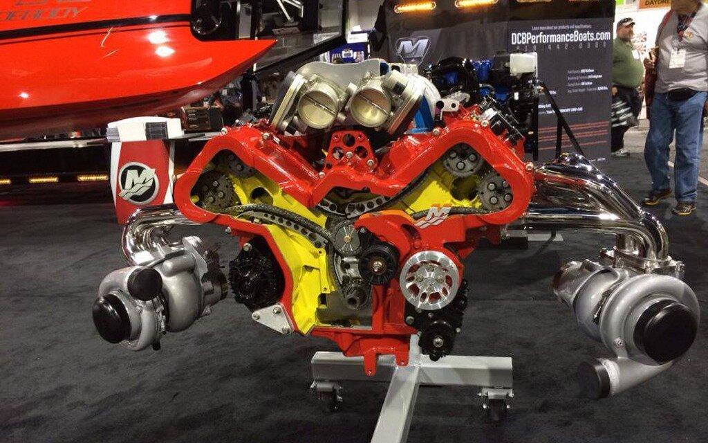 Exotic Car Racing Las Vegas >> Mercury Racing Unveils QC4v Crate Engines at SEMA - The Car Guide