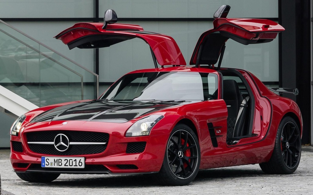 Mercedes-Benz SLS AMG GT Final Edition Coupe