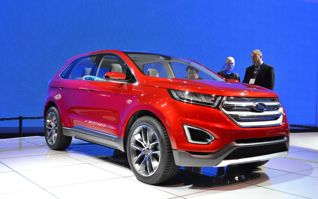 Ford Presents Its New Edge Concept 1 14