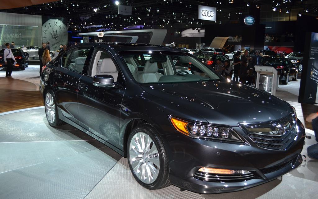 Acura Rlx Sport Hybrid Sh Awd Three Electric Motors 1 4