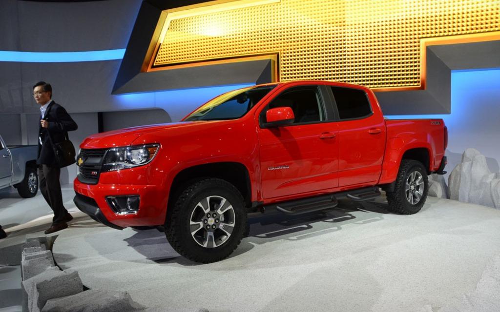 Le Chevrolet Colorado arrivera sur la marché comme modèle 2015