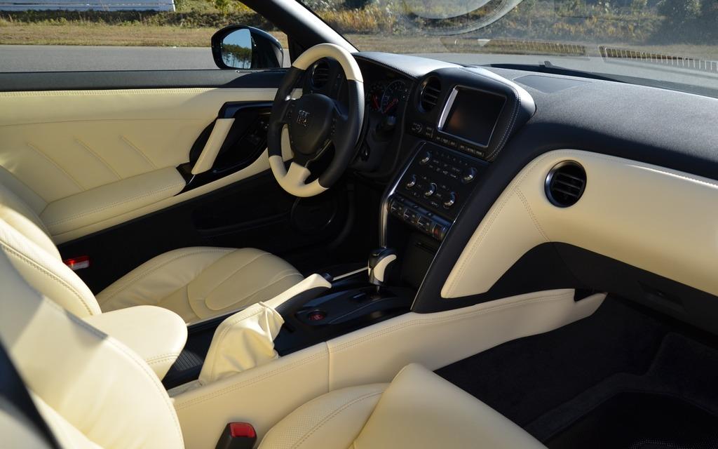 Premium Interior Of The 2015 Nissan GT R