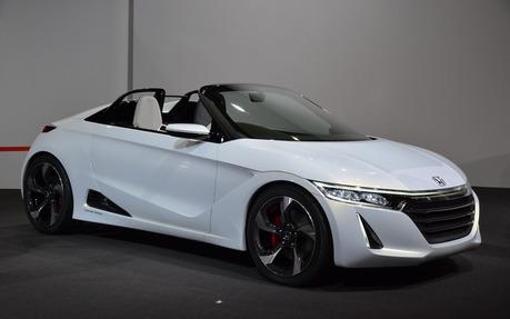Honda S660 Concept Turbocharged 660 Cc Engine And 80 Horsepower