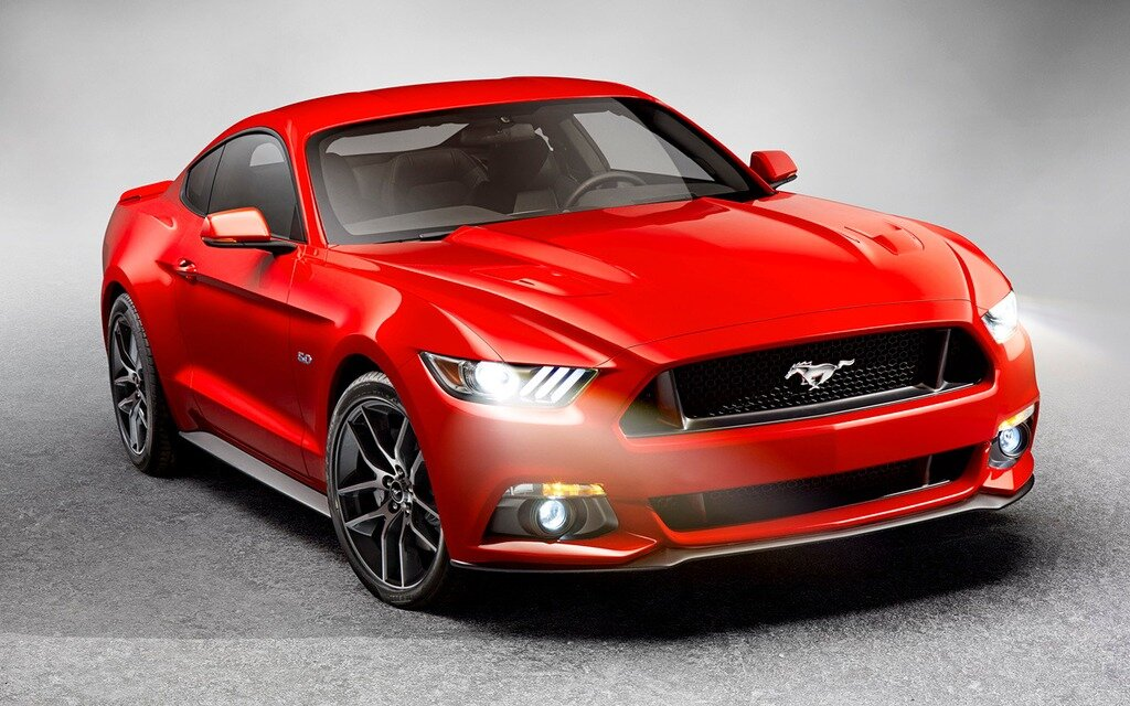 2015 Ford Mustang Official Unveiling
