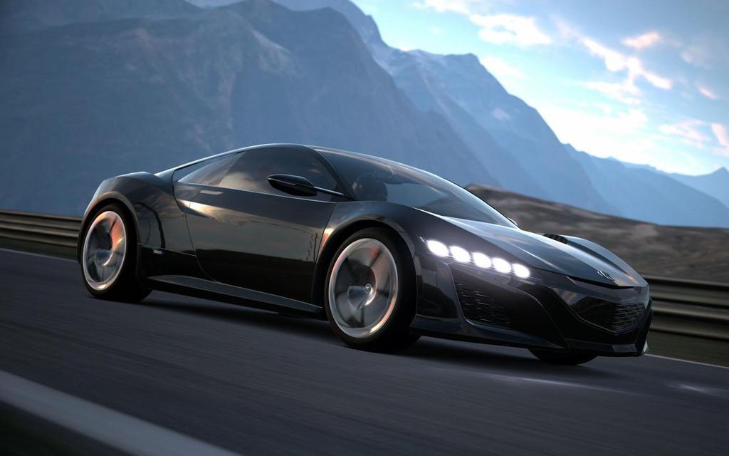 Acura NSX Concept du jeu vidéo Gran Turismo 6