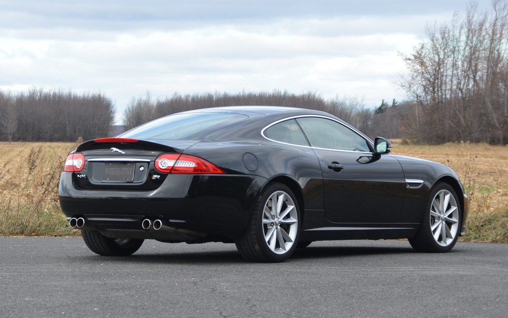 2014 Jaguar XKR : Age And Beauty!