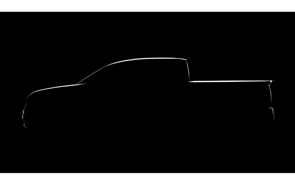 Esquisse de la prochaine mouture du Honda Ridgeline
