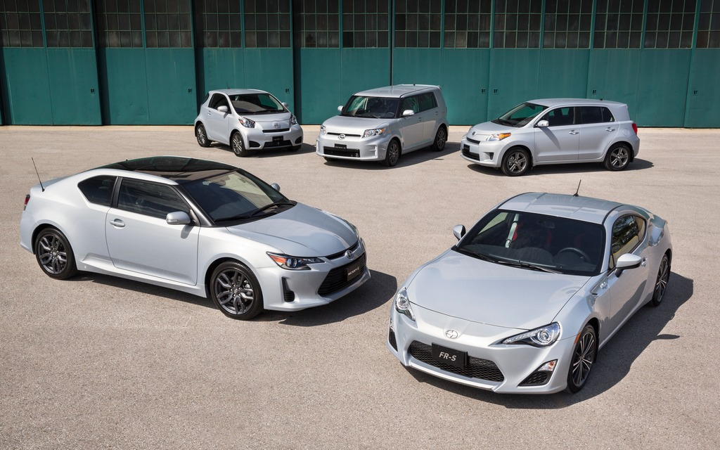 La gamme de modèles Scion 2014