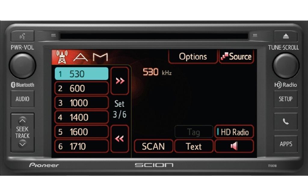 Le nouveau système audio des modèles Scion 2014