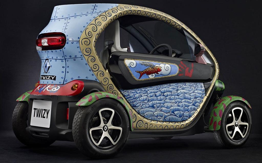 Renault Twizy Art Car de Jacques Tange