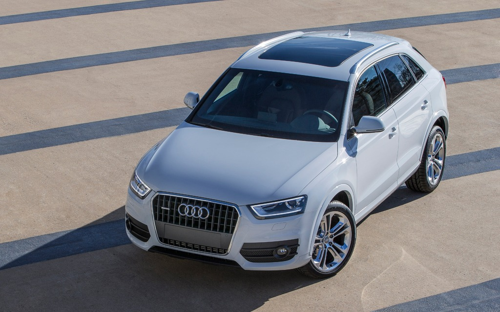 Lightly Modified Audi Q3 For North American Market - 3/6