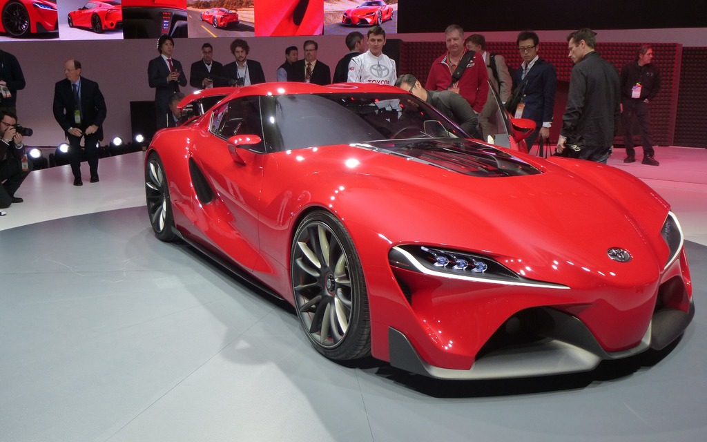 Toyota Ft 1 >> Toyota FT-1 Concept Stuns in Detroit - 2/11