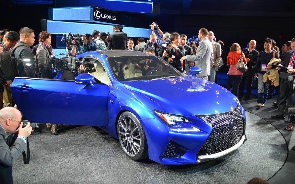 Lexus RC-F Concept