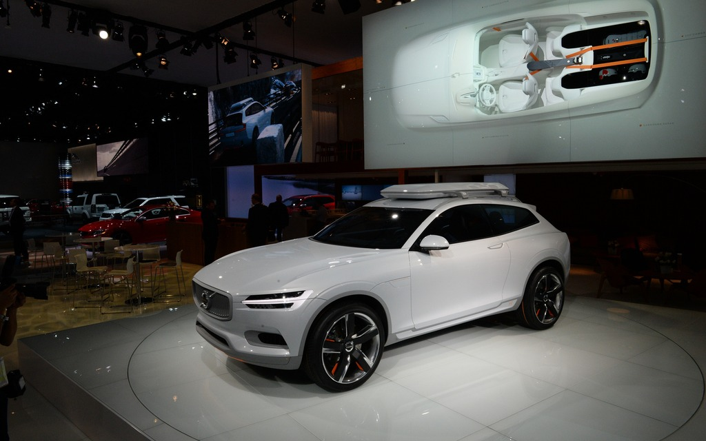 Volvo Concept Xc Coupe Shooting Brake The Car Guide