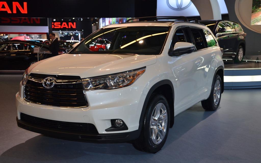 Toyota Highlander 2014 au Salon de l'Auto de Montréal