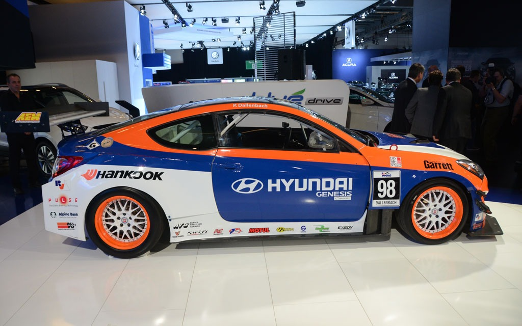 Rhys Millen Racing Hyundai Genesis Coupe 4 7