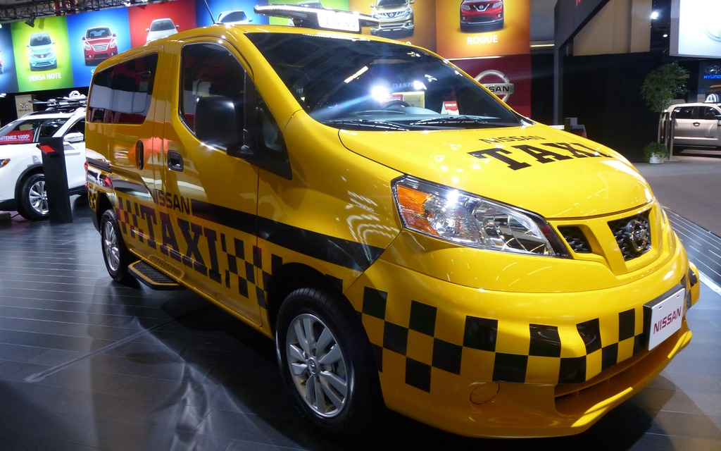 Le taxi du futur à Montréal?