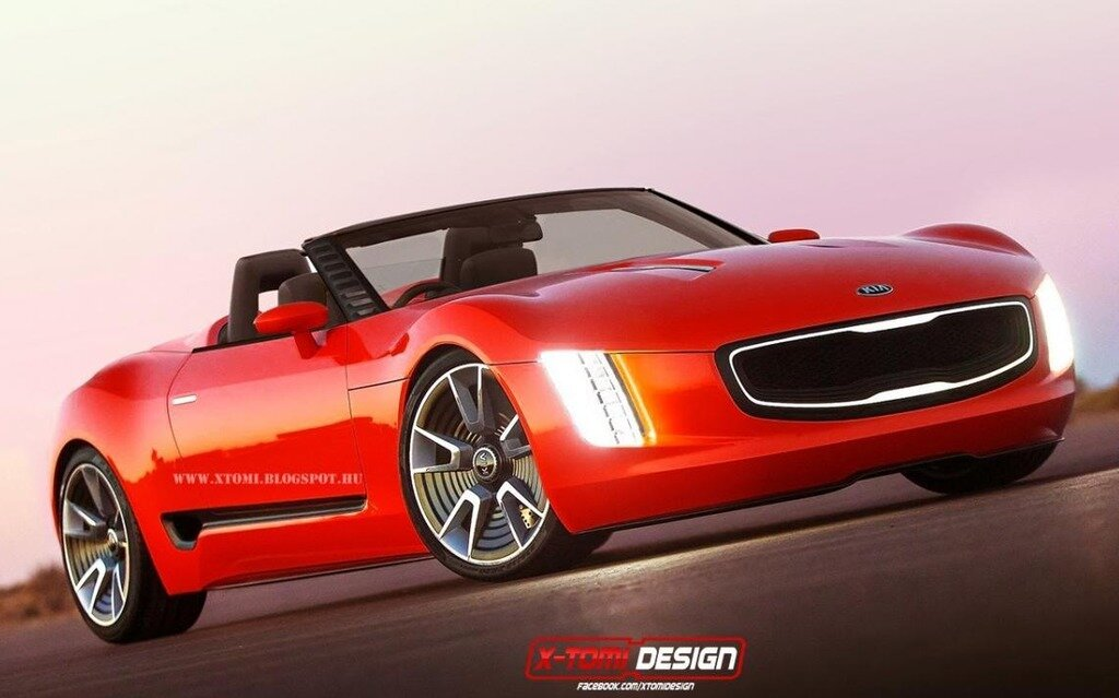 kia gt4 stinger cabriolet imagin par x tomi design guide auto. Black Bedroom Furniture Sets. Home Design Ideas