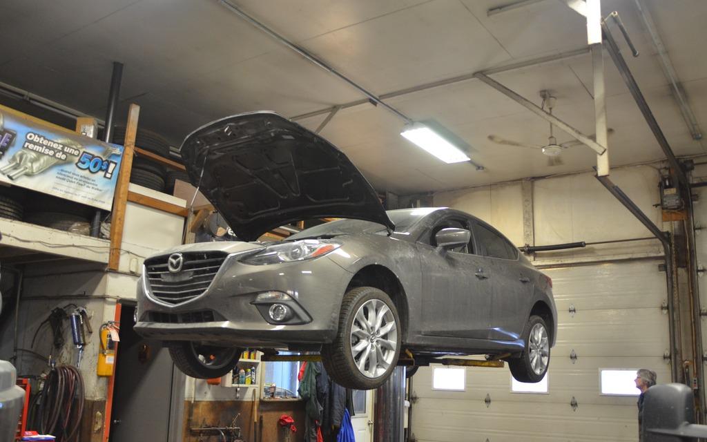 The Mazda3 ready to strut its stuff!