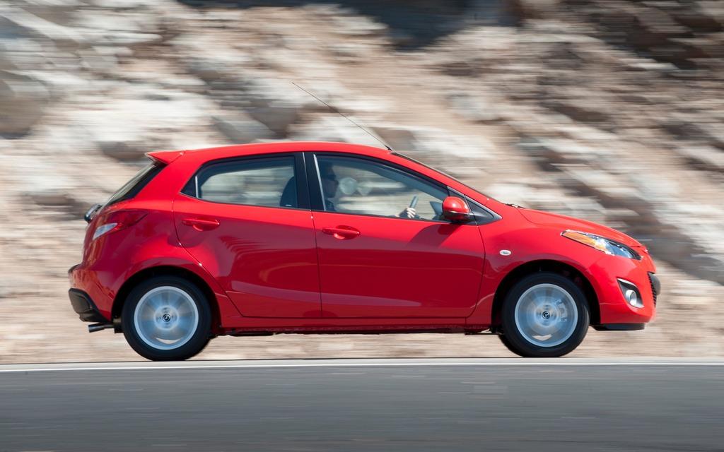 La Mazda2 n'est proposée que sous les traits d'une familiale à hayon