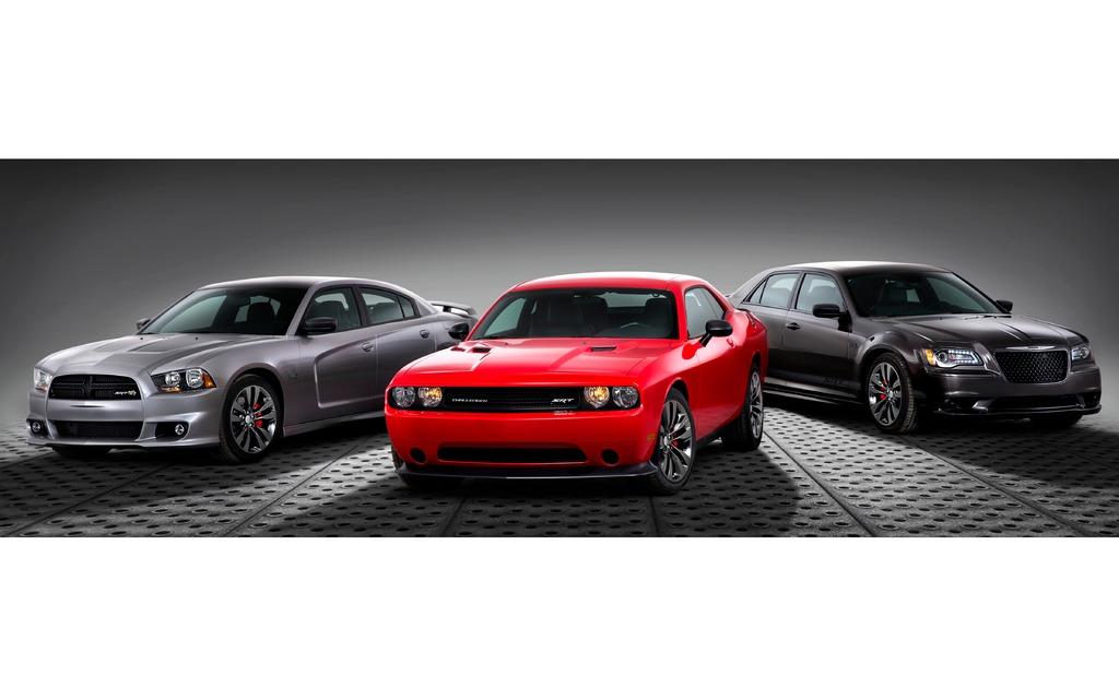 Charger, Challenger et 300 SRT Satin Vapor Edition