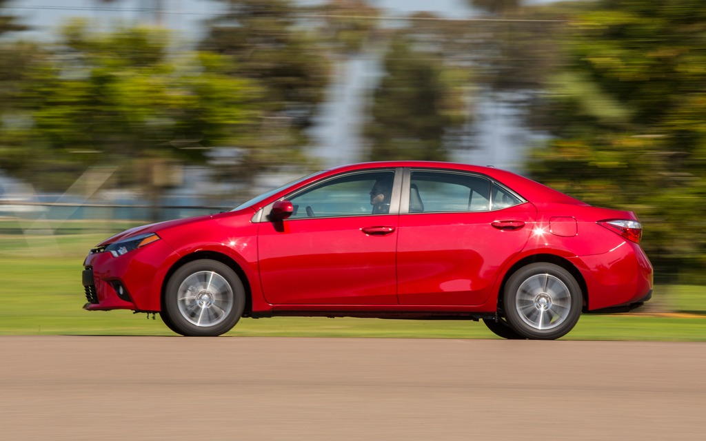 The 2014 Toyota Corolla is a perfectly acceptable compact car.