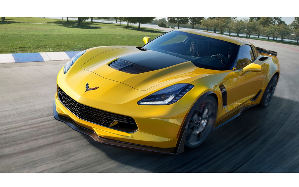 chevrolet corvette z06 2015 625 chevaux sous le capot guide auto. Black Bedroom Furniture Sets. Home Design Ideas