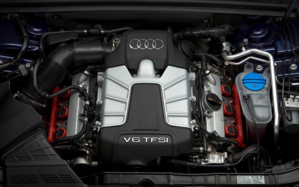 Le meilleur moteur en 2014, soit le V6 TFSI de l'Audi S5