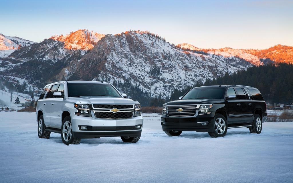 Chevrolet Tahoe et Suburban 2015