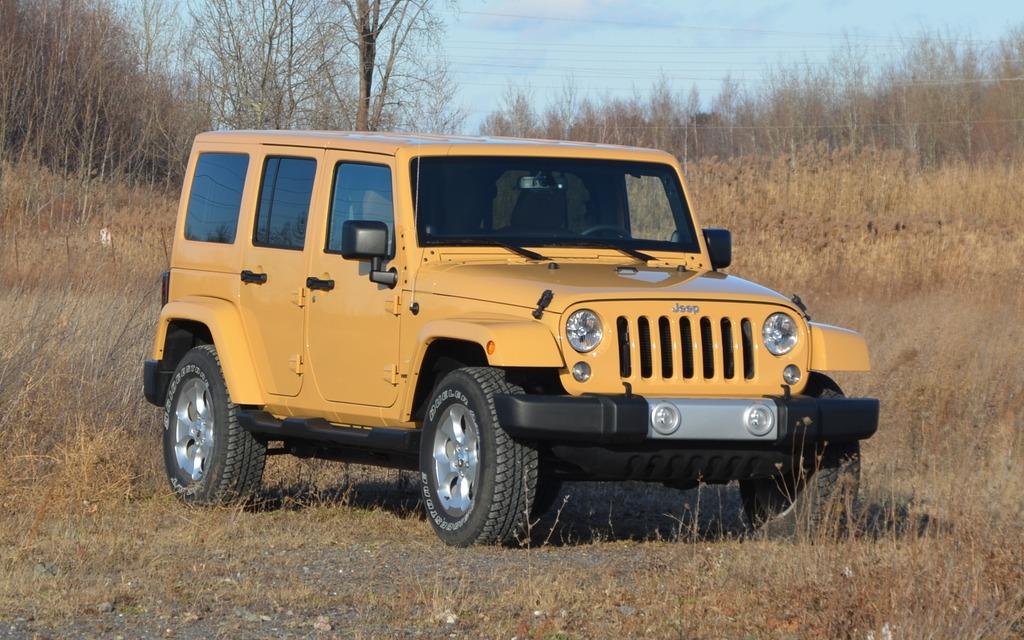 Le seul, l'inimitable, le Jeep Wrangler.