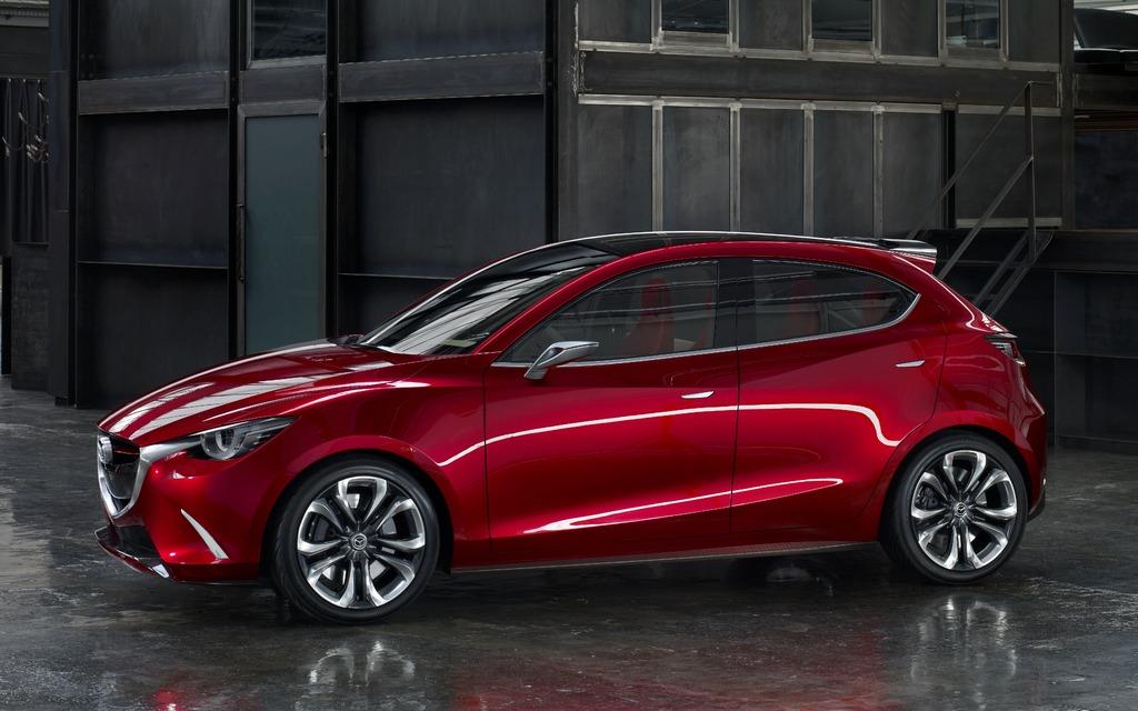 Mazda Hazumi Concept: The next version of the Mazda2 - 12/21