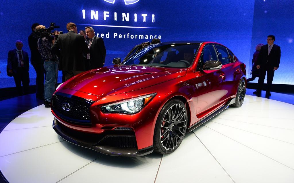 Infiniti Q50 Eau Rouge Concept in Detroit