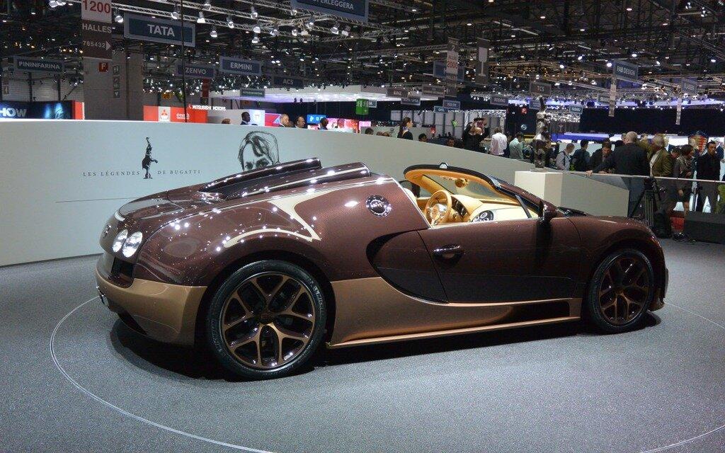bugatti veyron grand sport vitesse en hommage rembrandt bugatti guide auto. Black Bedroom Furniture Sets. Home Design Ideas