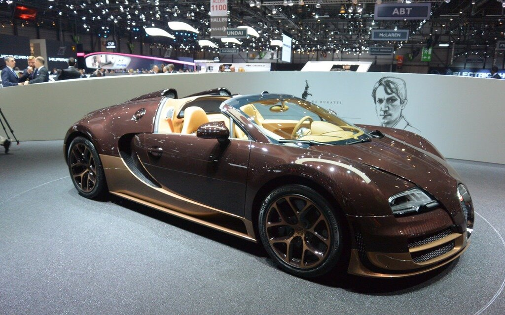 bugatti veyron grand sport vitesse: a convertible driven by 1,200 horses! -  the car guide