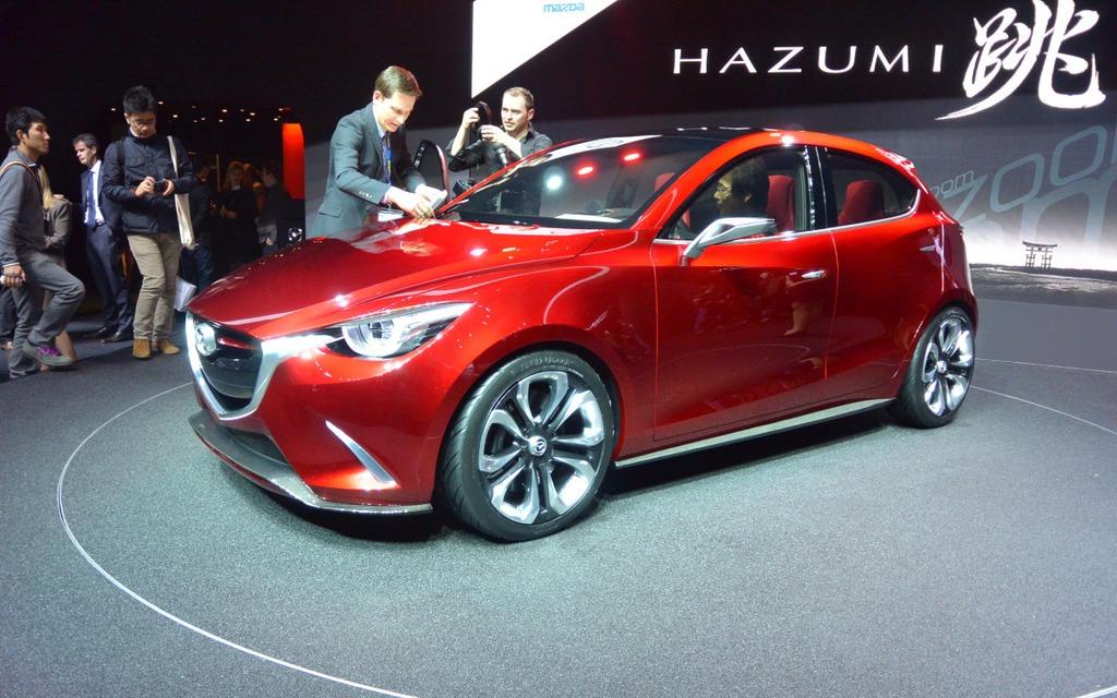 Mazda Hazumi Concept: The next version of the Mazda2 - 1/21