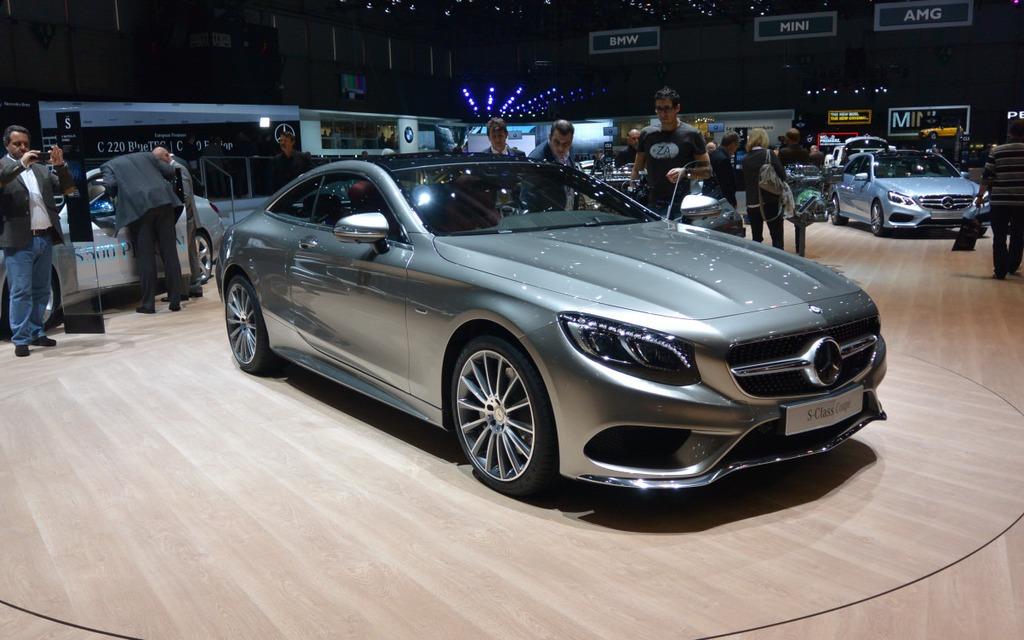 La nouvelle S Coupé offre un look classique et dynamique à la fois.
