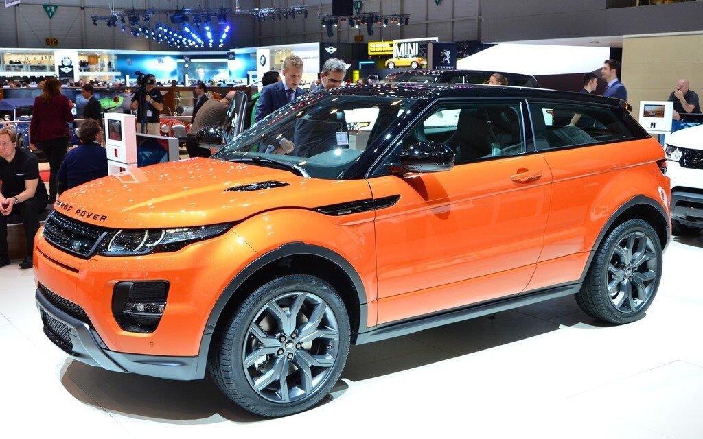 range rover evoque en version autobiography dynamic guide auto. Black Bedroom Furniture Sets. Home Design Ideas