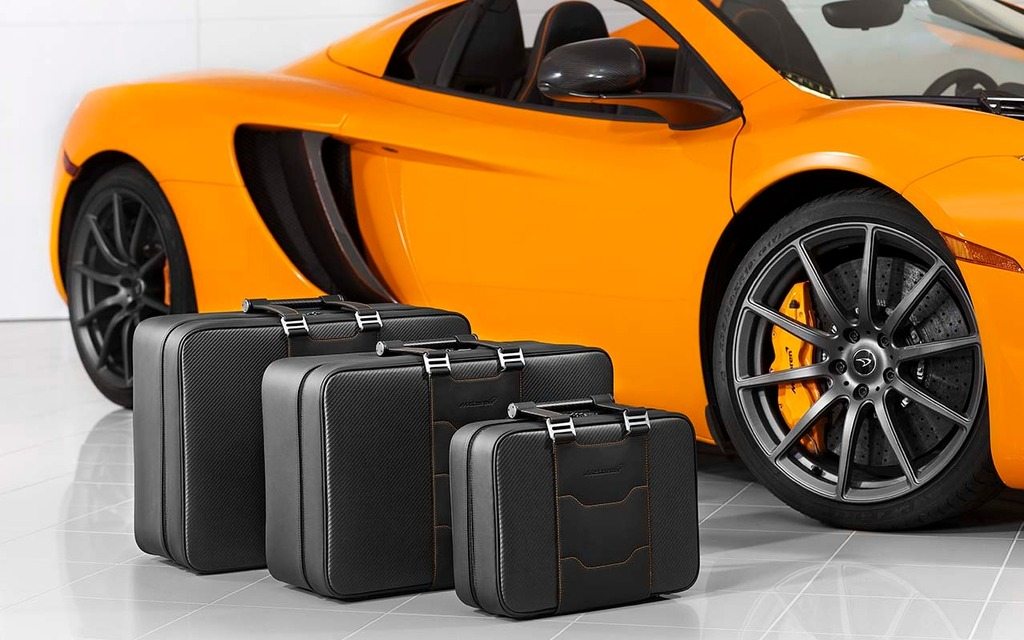 Ensemble de valises McLaren : 7270$
