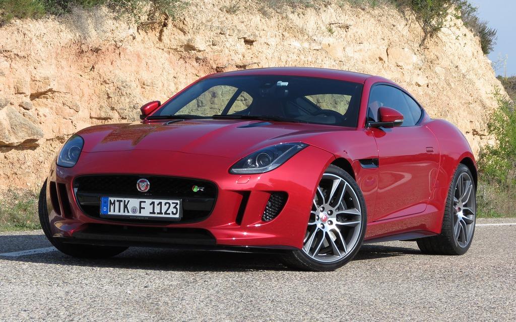 Jaguar f type coup 2015 un fauve rac aux griffes encore plus longues guide auto - Jaguar f type coupe occasion ...