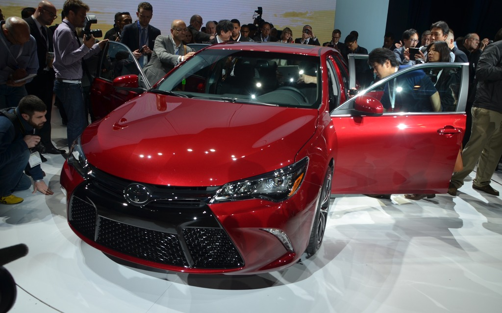 The 2015 Toyota Camry Unveiled In The Big Apple 11 11