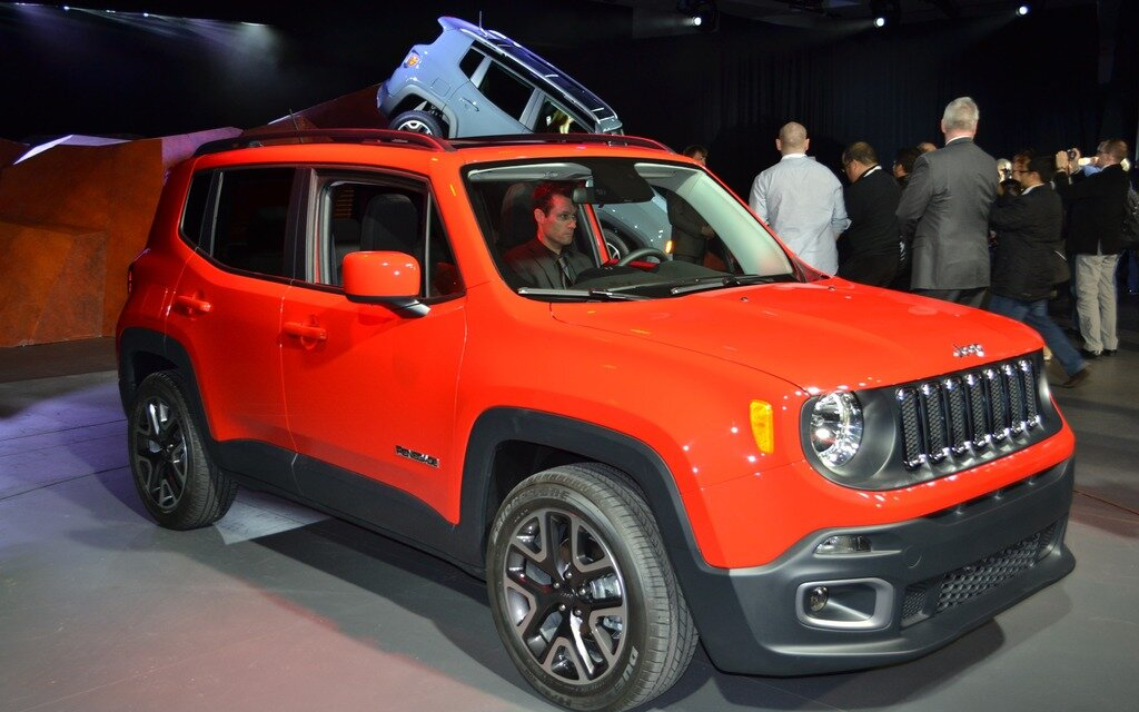 All-new 2015 Jeep Renegade: Most Capable Small SUV Expands ...