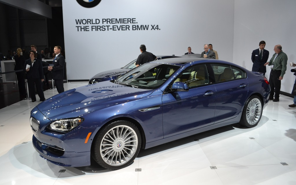 BMW Alpina B6 Biturbo xDrive Gran Coupe