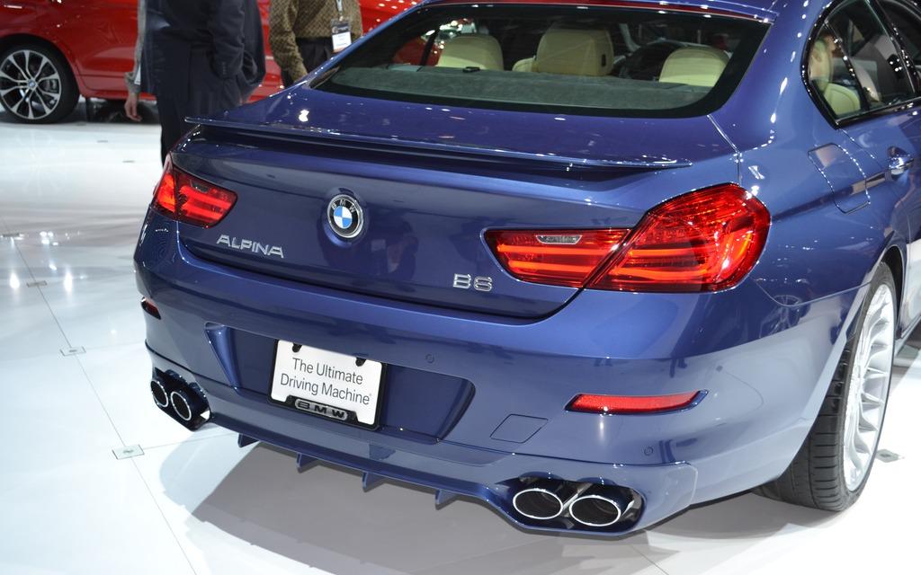 BMW Alpina B6 Biturbo xDrive Gran Coupe
