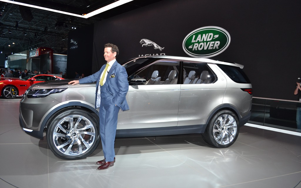 The Land Rover Discovery Vision Concept: Inspiration and ...