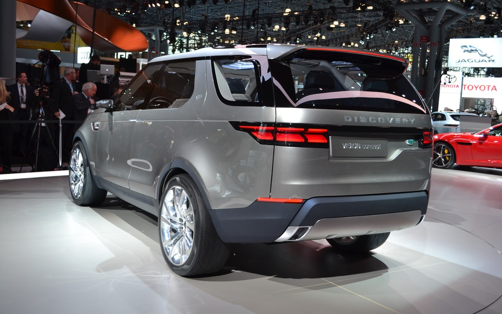 The Land Rover Discovery Vision Concept Inspiration And Technology