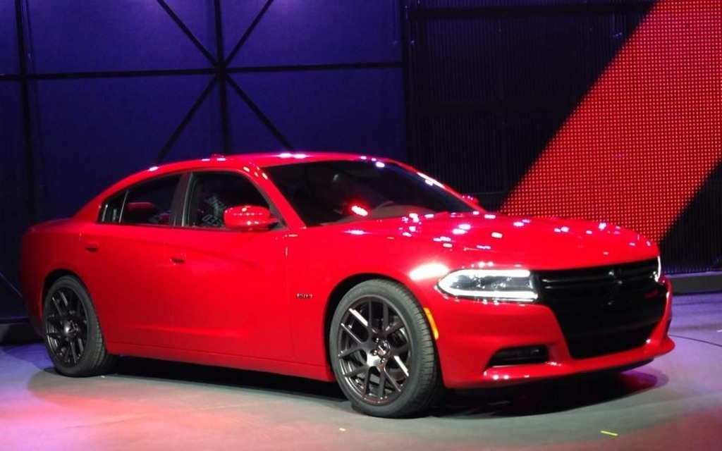 The All New Dodge Charger Unveiled In New York 1 15