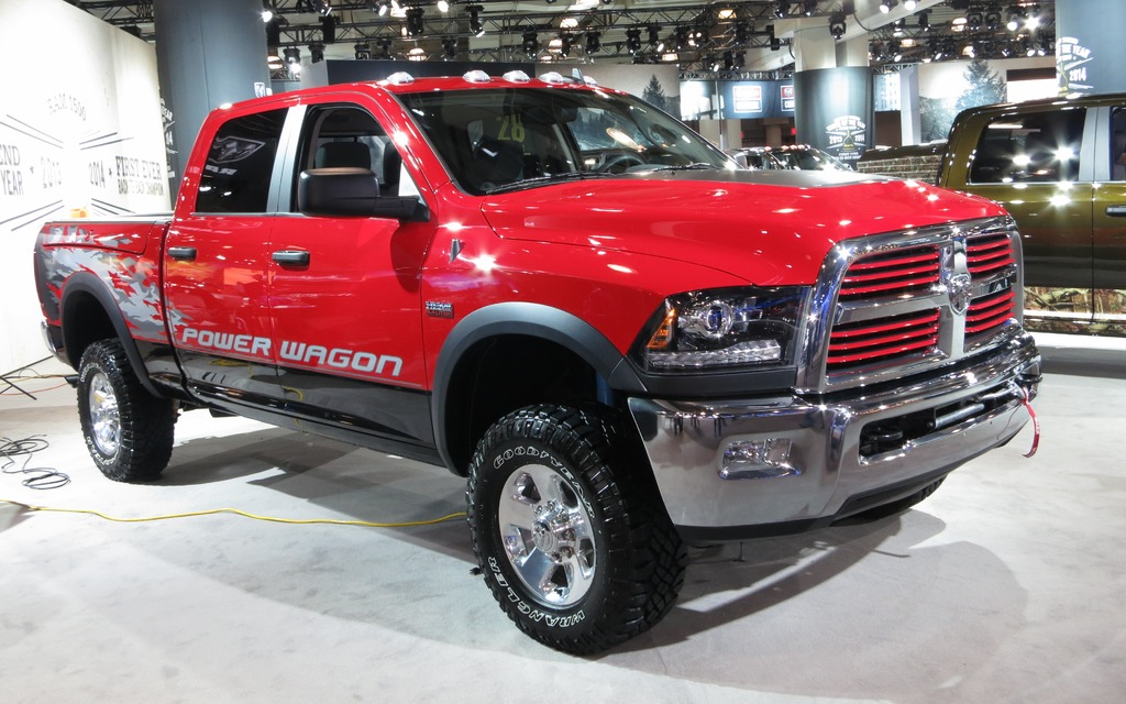 The New Ram Power Wagon Is Shown In New York The Car Guide