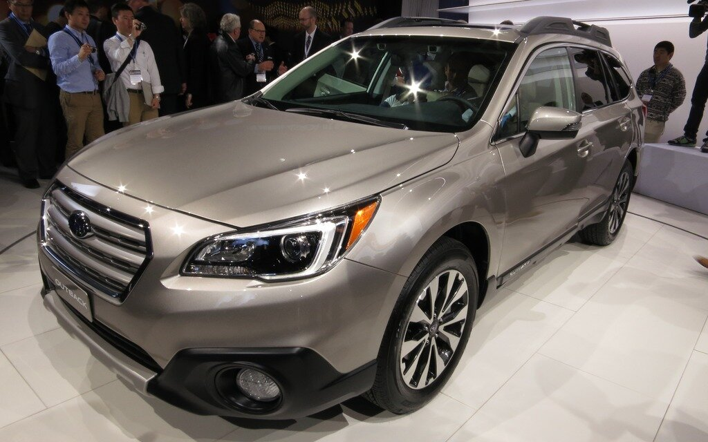 the new subaru outback bows at the new york auto show the car guide. Black Bedroom Furniture Sets. Home Design Ideas